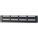 "Signamax 48458MD-C6C Patch Panel 48 Port CAT6 T568A/B Wiring, 3.50""-High"
