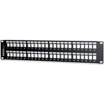 Signamax 48U-HDMMP 48-Port High-Density Field-Configurable Unloaded Multimedia Panel