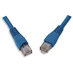 Signamax C6-115BU-5FB 5ft. CAT6 RJ45 Patch Cable w/Molded Boot - BLUE