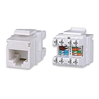 KJ458MT-C5E Signamax Keystone Jack, CAT5e MT-Series High-Density T568A/B Wiring