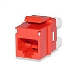 Signamax KJ458MT-C5E-RD CAT5e Keystone Jack Connector MT Series High-Density T568A/B