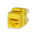Signamax KJ458MT-C5E-YE CAT5e Keystone Jack Connector MT Series High-Density T568A/B