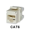 Signamax KJ458MT-C6C CAT6 Keystone Jack Connector MT-Series Light Ivory