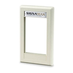 Signamax SGF-06 Faceplate Single Gang - Light Ivory