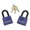 "Schlage 850410 Covered Laminated Steel Padlock  1-1/2"" (40mm)"