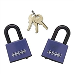 "Schlage Padlock  850410 Covered Laminated Steel 1-1/2"" (40mm)"