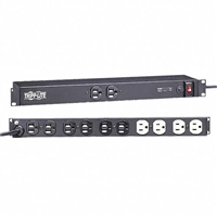 Tripp-Lite IBAR12 - Isobar Surge Suppressor- Rackmount surge, spike and line noise protection