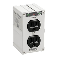 Tripp-Lite ISOBLOK 2-0 - Isobar Surge Suppressor- Direct plug-in surge, spike and line noise protection