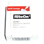 "HellermannTyton 101REF Rite-On Label Refill 3/4"" x 6"""