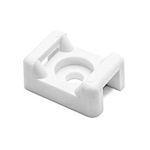 HellermannTyton CTM210C2 Cable Tie Mount for T18-T120 ties using #8 Screw White 100/pkg