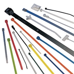 "HellermannTyton IT50R-9-C Cable Ties, 8"" Identification Type - 100/pkg"