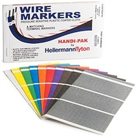 Handi-Pak marker book with 45 Markers each of 10 NEMA colors | HellermannTyton TCWM10