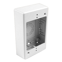 HellermannTyton TSRW-JB1 Single Gang Junction Box White