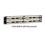 "Unicom 110C5-B100-R 100 pair 19"" rack mount"