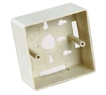 Unicom MIOP2-MBUOO-(COLOR) European Mounting Box for MIOP2 Faceplates