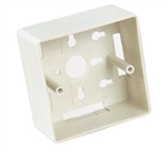 Unicom MIOP2-MBUOO-WT European UTP Mount Box White