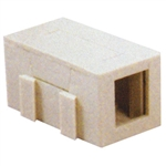 Unicom SMM-U01E-BG UTP Single Port Keystone Jack Unloaded - Beige
