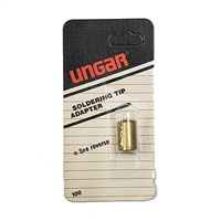 "Ungar 100 1/4"" thread-on adapter accepts 1/8"" thread-in tips"