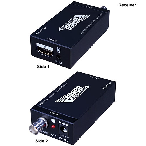 HDMI over Single Coax Cable Extender