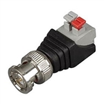 Velleman CV046 BNC Male To 2 Position Spring Terminal