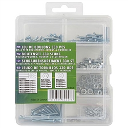 K.SC1 Metric Bolt Set 330 Pieces