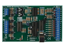 Velleman USB Experiment Interface Board Kit K8055N