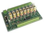 Velleman K8056 8-Channel Remote Relay Card Kit