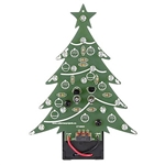 Velleman MK100B Blue LED Christmas Tree Electronics Kit