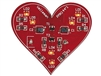Velleman MK144 Flashing Heart Project Kit