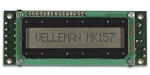 Velleman MK157 LCD Mini Message Board Electronics Kit