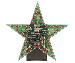 Velleman MK169R Flashing Red LED Star Electronics Kit