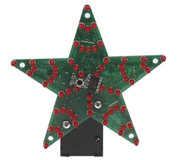 Velleman MK170 60-LED Multi-Effect Star Electronics Kit