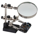 Velleman VTHH4 Helping Hand with Magnifier