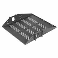 VMP ER-S2CM Center Rack Mount Shelf | Video Mount Products