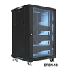 "VMP EREN-18E 19"" Equipment Rack Enclosure - 18U - empty with 2 fans"