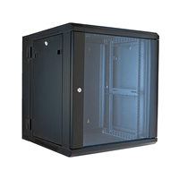 "VMP ERWEN-12E 19"" Hinged Wall Equipment Rack Enclosure - 12U"