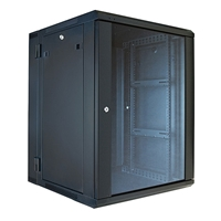 "VMP ERWEN-15E 19"" Hinged Wall Equipment Rack Enclosure - 15U"