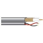 West Penn Wire 2815B RG59+18/2 Coaxial Cable
