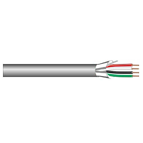 West Penn Wire 3241 4 Conductor 22AWG Stranded Shielded PVC