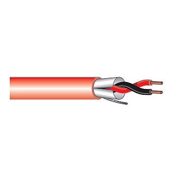 West Penn Wire 975 2 Conductor 18AWG Shielded PVC Cable