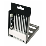 Wiha 26997 Screwdriver Set System 4 ESD Slotted Phillips Torx 9 Piece Bit Set