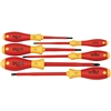 Wiha 32092 Screwdriver Set, Insulated Slotted & Phillips 6 Piece