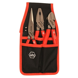 Wiha 32653 Tool Set, Pliers Cutters Combo Set 3 Piece