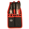 Wiha 32655 Tool Set, Pliers Cutters Screwdrivers 5 Piece Combo Set