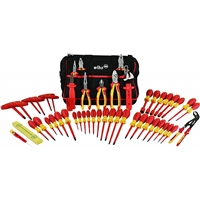 Wiha Tools 32874 Insulated 50 Piece Tool Set of Pliers & Screwdrivers