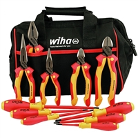 Wiha Tools 32977 Tools Industrial Insulated Cutter & Driver Set