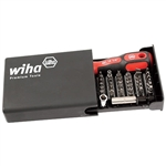 Wiha 71990 Screwdriver Bit Set, Security 39 Piece