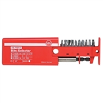Wiha 79243 Combo Bit Selector Set Slot, Phillips & TORX