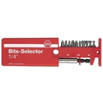 Wiha 79248 Selector Set, Slotted Phillips & Square