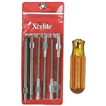 Xcelite 99-XTD7 6-piece Series 99 Torx Screwdriver Blade Kit